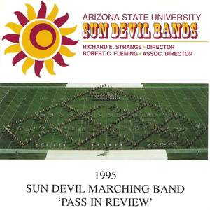 Arizona State University Sun Devil Bands Pass In Review 1995