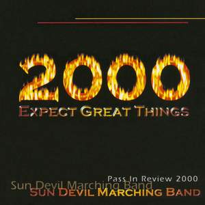 Arizona State University Marching Band Pass In Review 2000