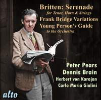 Britten: Serenade, Frank Bridge Variations & Young Person's Guide to the Orchestra
