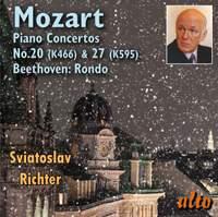 Mozart: Piano Concertos Nos/ 20 & 27 & Beethoven: Rondo, WoO 6