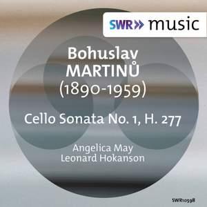 Martinů: Cello Sonata No. 1, H. 277