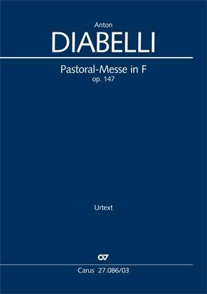 Diabelli, Anton: Pastoral Mass in F major, op. 147