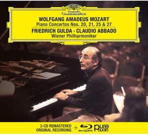 Mozart: Piano Concertos Nos. 20, 21, 25 & 27 Product Image