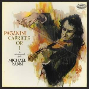 Paganini: Caprices for Solo Violin - Vinyl Edition