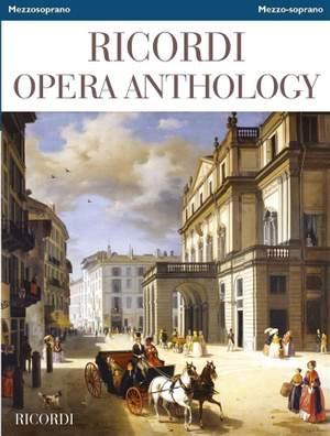Ricordi Opera Anthology - Mezzo-soprano