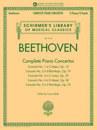 Beethoven: Complete Piano Concertos (Reduction for Two Pianos)