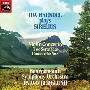 Ida Haendel plays Sibelius - Vinyl Edition
