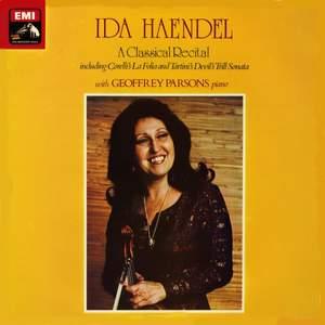 Ida Haendel - A Classical Recital - Vinyl Edition