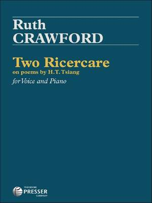 Crawford, R: Two Ricercare