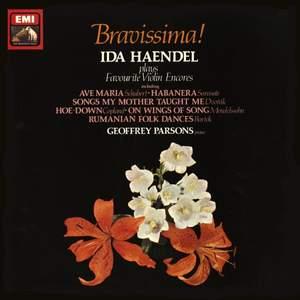 Ida Haendel - Bravissima! Favourite Violin Encores - Vinyl Edition