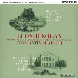 Mozart & Mendelssohn: Violin Concertos - Vinyl Edition