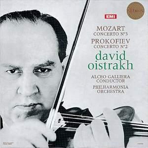 Mozart: Violin Concerto No. 3 & Prokofiev: Violin Concerto No. 2 - Vinyl Edition