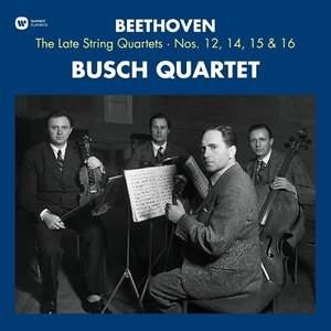 Beethoven: String Quartets Nos. 12, 14, 15 & 16 - Vinyl Edition