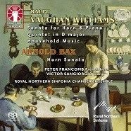 Vaughan Williams: Horn Sonata, Quintet, Household Music & Bax: Horn Sonata