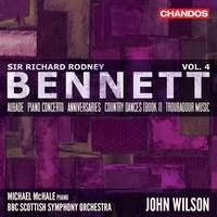 Sir Richard Rodney Bennett: Orchestral Works Vol. 4