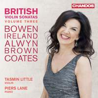 British Violin Sonatas Vol. 3