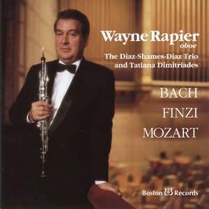 Bach, Finzi, Mozart