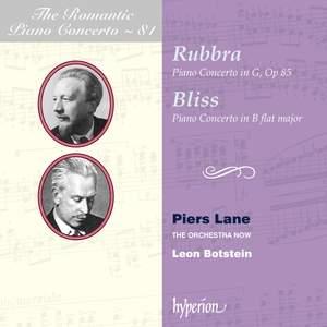 The Romantic Piano Concerto 81- Rubbra & Bliss