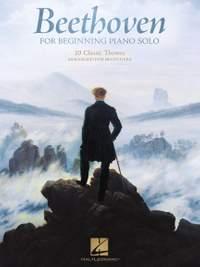 Ludwig van Beethoven: Beethoven for Beginning Piano Solo