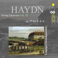 Haydn: String Quartets Vol. 12 Op. 17, 2 4 6