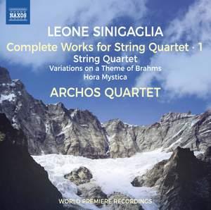 Sinigaglia: Complete Works for String Quartet, Vol.1 Product Image