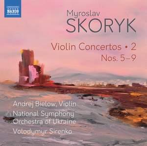 Skoryk: Violin Concertos Product Image