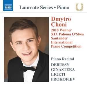 Debussy, Ginastera, Ligeti, Prokofiev: Dmytro Choni Piano Laureate Recital