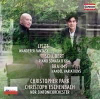 Liszt: Wanderer Fantasy, Schubert: Piano Sonata No. 13 & Brahms: Handel Variations