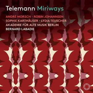Telemann: Miriways Product Image