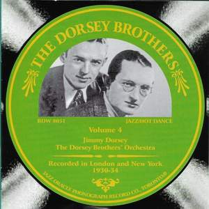 The Dorsey Brothers, Vol. 4 - 1930-1934 Product Image
