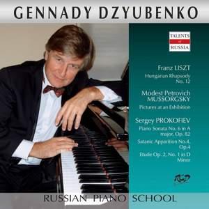 Liszt, Mussorgsky & Prokofiev: Piano Works