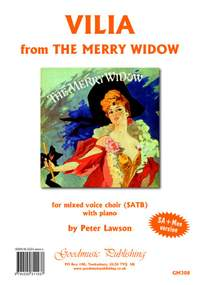 Franz Lehar: Vilia arranged by Peter Lawson for SA+Men