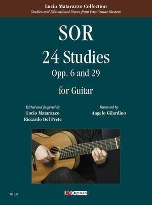 Sor, F: 24 Studies op.6 & op.29