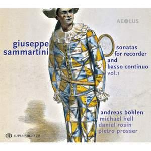Giuseppe Sammartini: Sonatas For Recorder & Basso Continuo