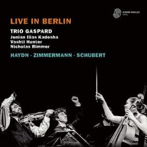Trio Gaspard: Live in Berlin