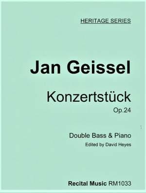 Jan Geissel: Konzertstuck Op.24