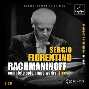 Rachmaninoff: Complete Solo Piano Works