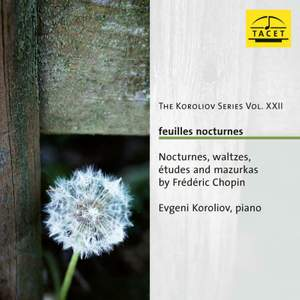 The Koroliov Series Vol. Xxii . Feuilles Nocturnes. Nocturne