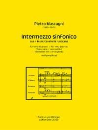 Mascagni, P: Intermezzo sinfonico