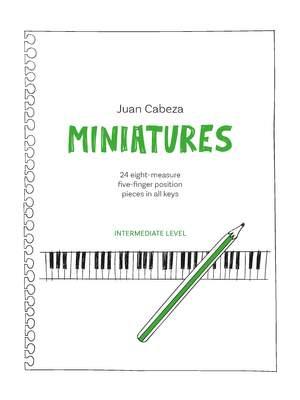 Juan Cabeza: Piano Safari Miniatures Product Image