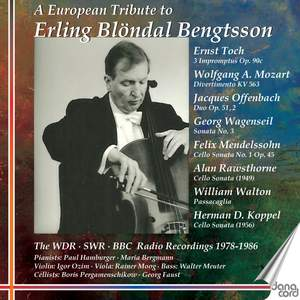 A European Tribute To Erling Blöndal Bengtsson Product Image