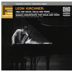 Kirchner: Trio No. 1 - Sonata concertante Product Image