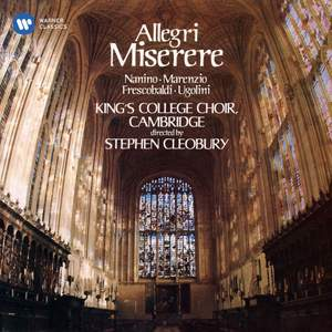 Allegri's Miserere and Other Music of the Italian 16th Century