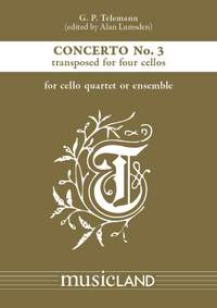 Georg Philipp Telemann: Concerto No. 3