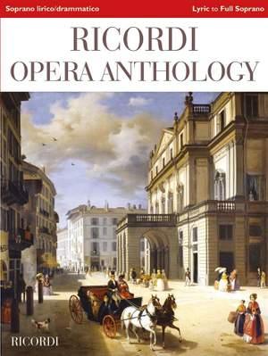 Ricordi Opera Anthology - Lyric to Full Soprano