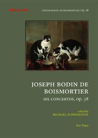 Boismortier, J B d: Six concertos op. 38