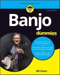Banjo For Dummies: Book + Online Video and Audio Instruction
