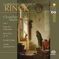 Christian Heinrich Rinck: Chamber Music Vol. 1