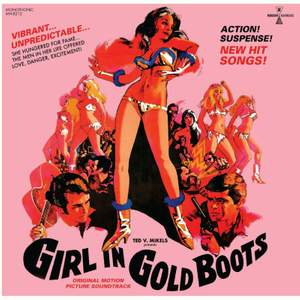 Girl in Gold Boots Original Motion Picture Soundtrack