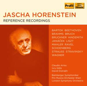 Jascha Horenstein - Reference Recordings Product Image